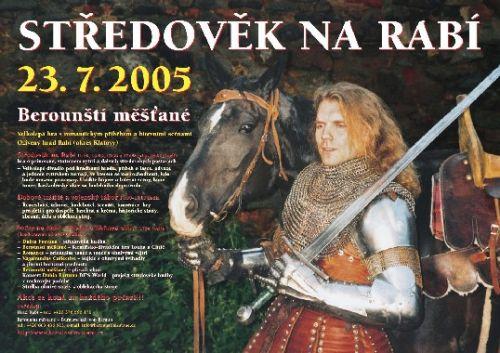 Berounští měšťané Středověk na Rabí 2005