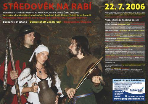 Berounští měšťané Středověk na Rabí 2006