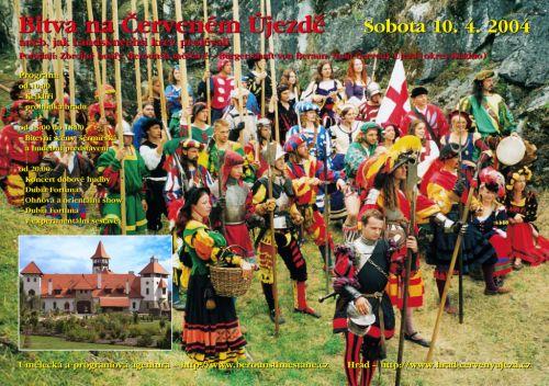Berounští měšťané Bitva na Červeném Újezdě 2004
