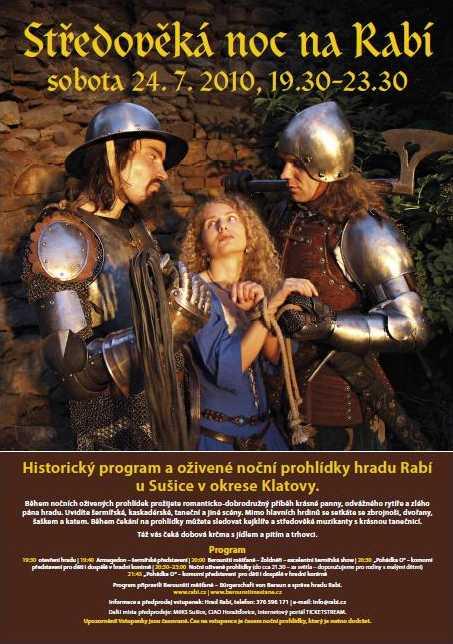 Berounští měšťané Středověká noc na Rabí 2010
