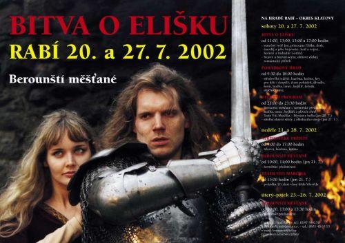 Berounští měšťané Bitva o Elišku 2002