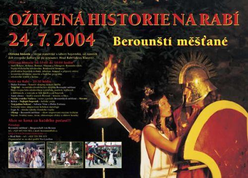 Berounští měšťané Oživená historie 2004