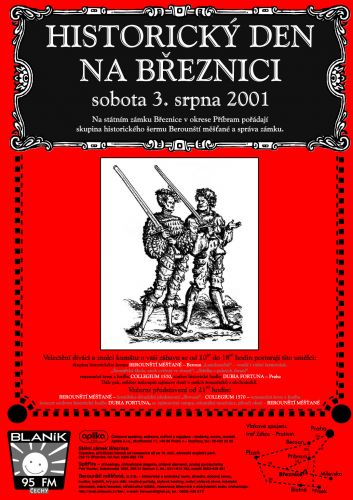 Berounští měšťané Historický den na Březnici 2001
